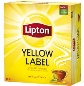 Herbata Yellow Label (100szt.) Lipton