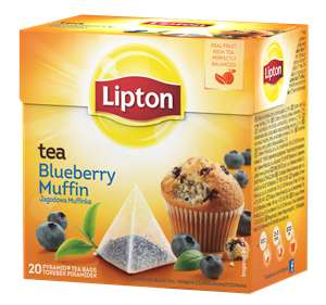 Herbata Blueberry Muffin piramid. Lipton